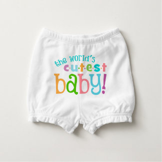 World's Cutest Baby - Cute Baby Bloomers