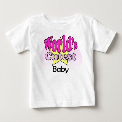 World's Cutest baby Playera De Bebé