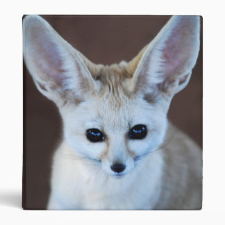 Worlds Cutest Fennec Fox Binder