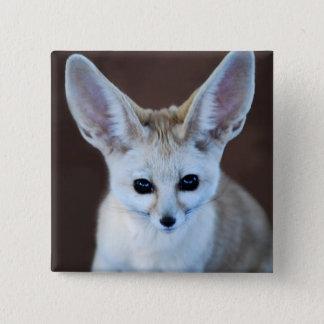 Worlds Cutest Fennec Fox Button
