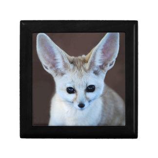 Worlds Cutest Fennec Fox Keepsake Box