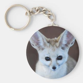 Worlds Cutest Fennec Fox Keychain