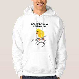 World's Cutest Genealogist Hooded Sweatshirt