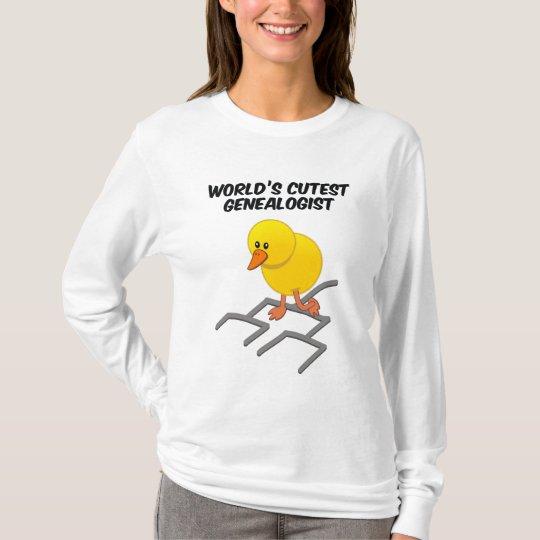 World's Cutest Genealogist T-Shirt