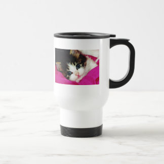 Worlds Cutest Kitten Travel Mug
