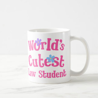 Worlds Cutest Law Student Coffee Mug