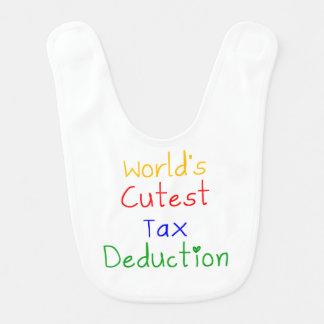 World's Cutest Tax Deduction Baby Bib