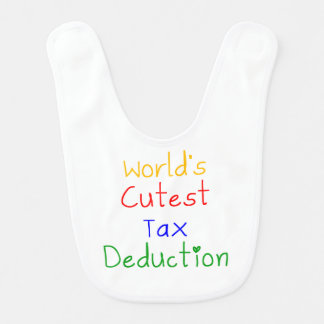 World's Cutest Tax Deduction Baby Bibs