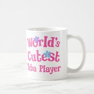 Worlds Cutest Tuba Player Coffee Mug
