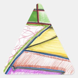 Worlds Diagramming Triangle Sticker