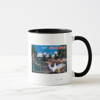World's Egg Basket Poster Mug