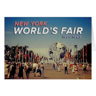 World's Fair 1964 Greeting Card