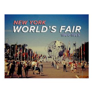 World's Fair 1964 Postcard