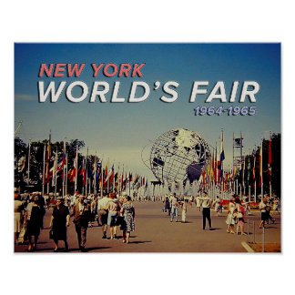 World's Fair 1964 Poster