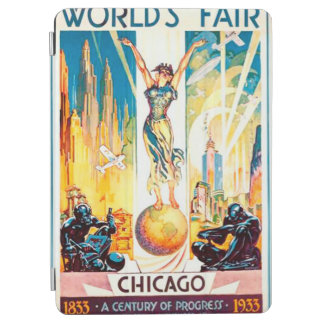 Worlds Fair Chicago 1933 Advertisement Poster iPad Air Cover