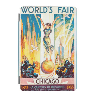 Worlds Fair Chicago 1933 Advertisement Poster iPad Mini Cover