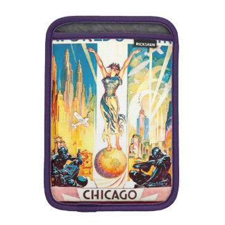 Worlds Fair Chicago 1933 Advertisement Poster iPad Mini Sleeve