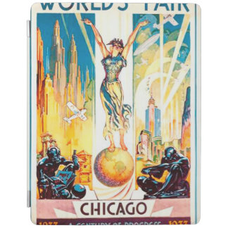 Worlds Fair Chicago 1933 Advertisement Poster iPad Smart Cover