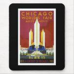 """World's Fair, Chicago, 1933"" Vintage Mouse Pad"