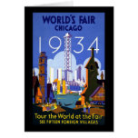 World's Fair Chicago 1934 Card