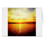 World's Fair Marina Sunset Card