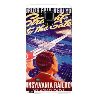 Worlds Fair New York 1939 Poster Galaxy Note 4 Case