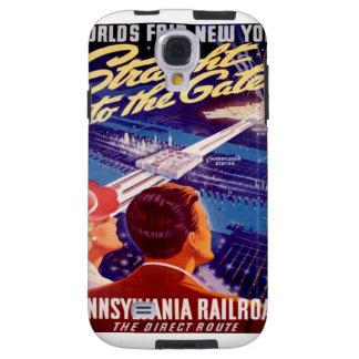 Worlds Fair New York 1939 Poster Galaxy S4 Case