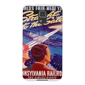 Worlds Fair New York 1939 Poster Galaxy S5 Cover