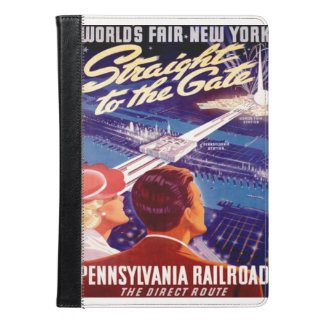 Worlds Fair New York 1939 Poster iPad Air Case