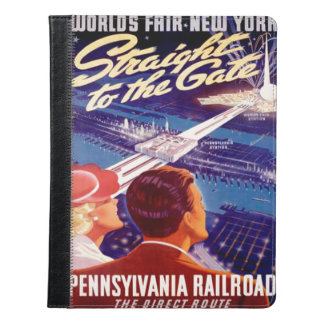 Worlds Fair New York 1939 Poster iPad Case