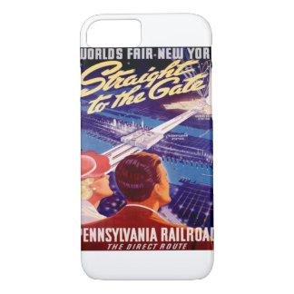 Worlds Fair New York 1939 Poster iPhone 8/7 Case