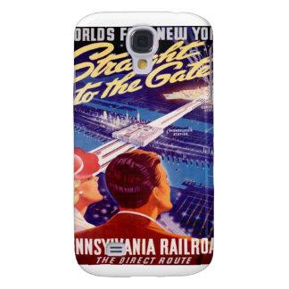 Worlds Fair New York 1939 Poster Samsung Galaxy S4 Case