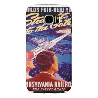 Worlds Fair New York 1939 Poster Samsung Galaxy S6 Case