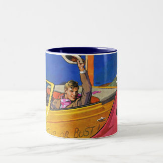 World's Fair or Bust Two-Tone Coffee Mug