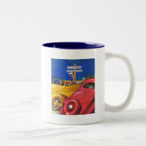 World's Fair or Bust Two-Tone Coffee Mug