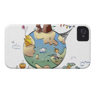 World's famous places around the globe iPhone 4 case