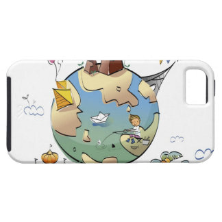 World's famous places around the globe iPhone SE/5/5s case