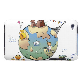 World's famous places around the globe iPod touch cover