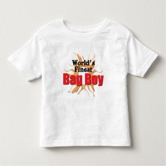 Worlds Finest Bag Boy Toddler T-shirt