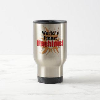 Worlds finest Machinist Travel Mug