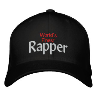 Worlds finest Rapper Embroidered Baseball Hat