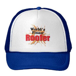 Worlds Finest Roofer Hats