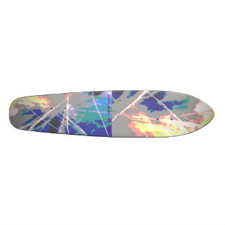 World's First Chemtrail Skateboard !