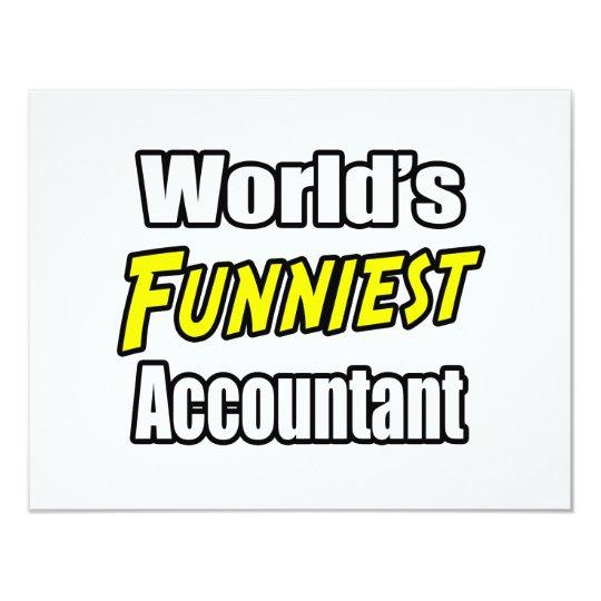 World's Funniest Accountant Card