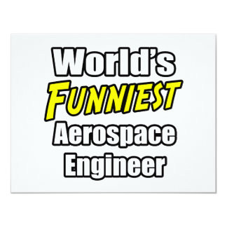 World's Funniest Aerospace Engineer Personalized Announcements
