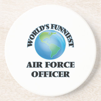 World's Funniest Air Force Officer Drink Coasters