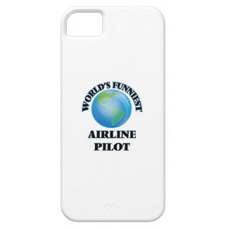 World's Funniest Airline Pilot iPhone 5 Case