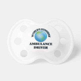 World's Funniest Ambulance Driver BooginHead Pacifier