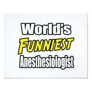 World's Funniest Anesthesiologist Card