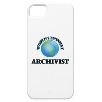 World's Funniest Archivist iPhone 5 Cover